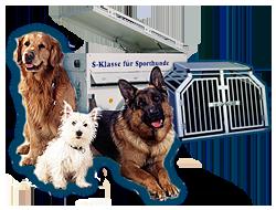 Alles rund um Ihren Liebling: Hundeboxen, Hundeanhänger, Hundesportartikel
